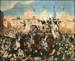 The Peterloo massacre.